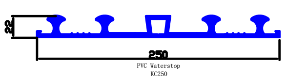 pvc waterstop for swimming pool
