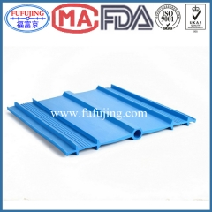 Center Bulb  internal expansoin PVC waterstop width 330mm blue
