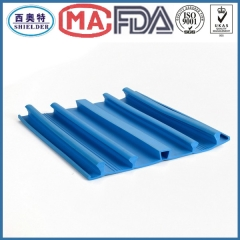This kind of PVC waterstop is used in concrete external expansion joint to prevent liquid leakage.