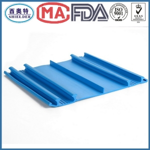 This kind of PVC waterstop is used in concrete external construction joint to prevent liquid leakage.