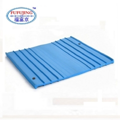 This kind of PVC waterstop is used in concrete internal construction joint to prevent liquid leakage.