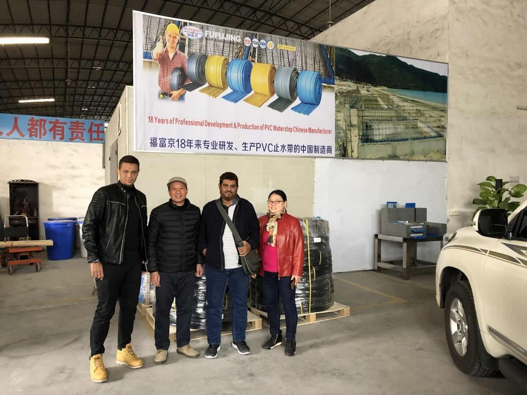 Africa customers visit our factory